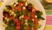 Na gorące dni sałatka z arbuzem i serem feta