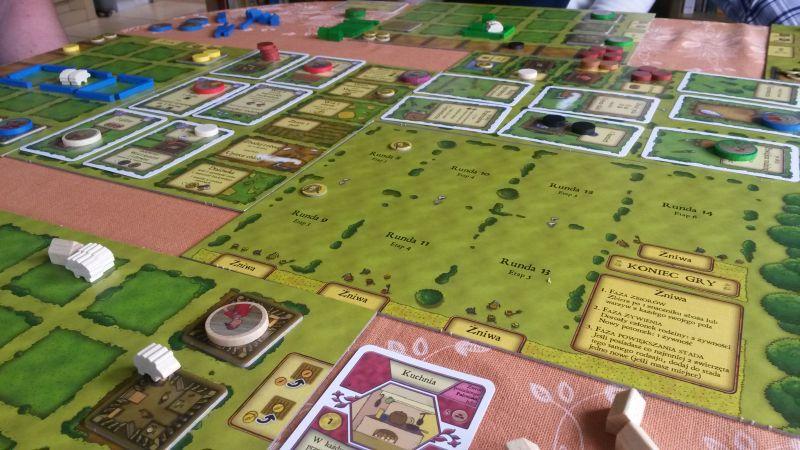 Nasza nowa gra planszowa – Agricola