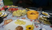 Obiadek na tarasie